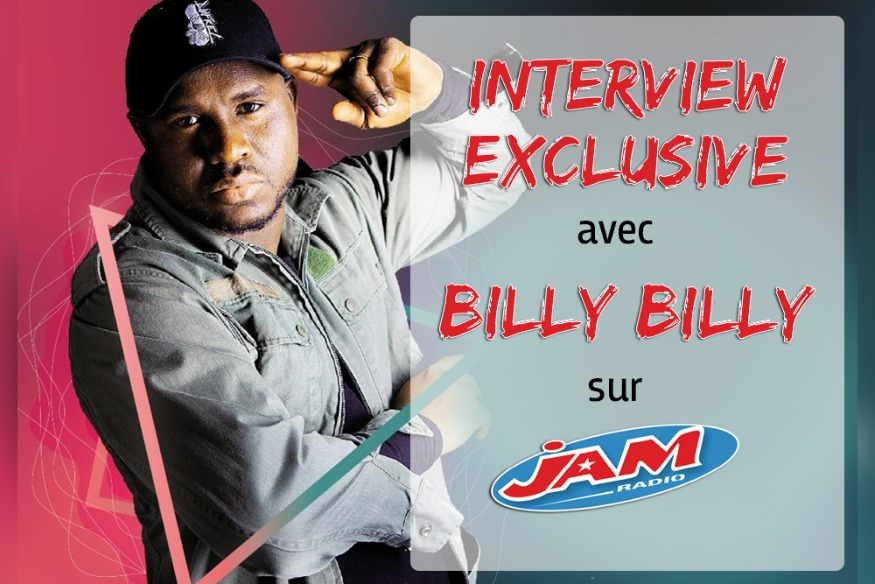 INTERVIEW EXCLUSIVE AVEC BILLY BILLY !